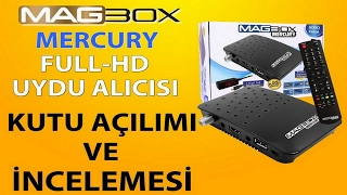 MAGBOX MERCURY FULL HD MİNİ UYDU ALICISI KUTU AÇILIMI VE İNCELEMESİ.
