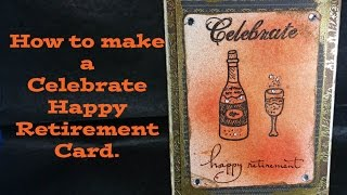 How to Make a Happy Retirement Card