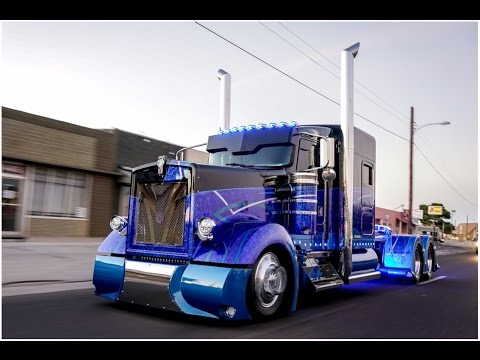 Worlds Most Custom  Kenworth 900 Built By Texas Chrome Trucks! Mp3
