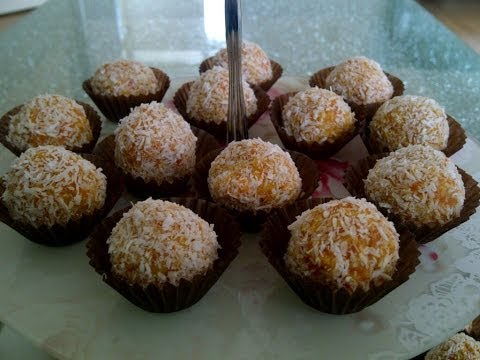 Video How to make carrot-coconut balls? A healthy, easy, cheap and delicious dessert!