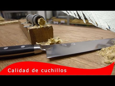 Mejores cuchillos de cocina resultados de máxima retención del filo