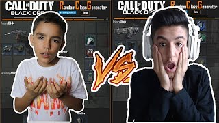 Black Ops 3 Random Class Generator With Little Brother! (Close Game)