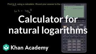 Calculator for Natural Logarithms
