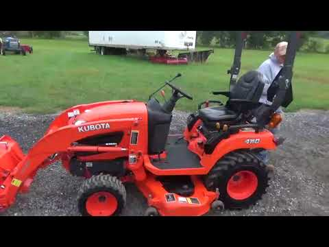 2013 Kubota BX2670 Xtra Power Sub Compact Tractor Loader Belly Mower 4X4 For Sale
