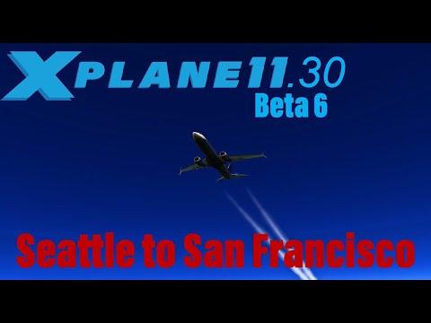 X-Plane 11 30 beta 5 737 ZIBO - смотреть онлайн на Hah Life