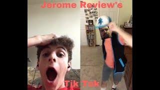 Jerome Review's Tik Tok