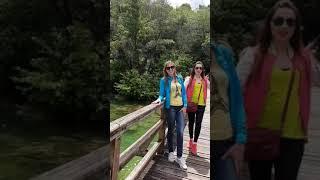 """Хорватия- водопады  КРКА парк"""