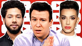 WOW! Jussie Smollett HIT WITH 6 COUNTS! James Charles, The Hunt, & How Bernie vs Pete Will Play Out