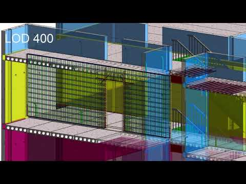 Revit 2019 Level of Development Demonstration