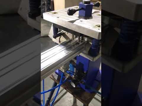 Aluminium Window Punching Machine