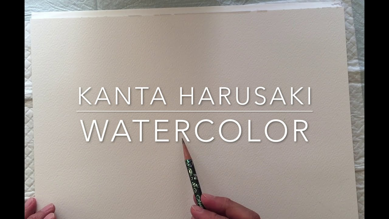 watercolor painting nature by kanta harusaki