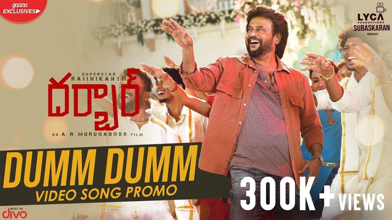 Dumm Dumm Song Promo from Darbar