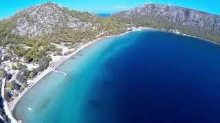 Lonely Lighthouse and Blue Lake FPV - Loutraki, Greece walkera qr x350 pro