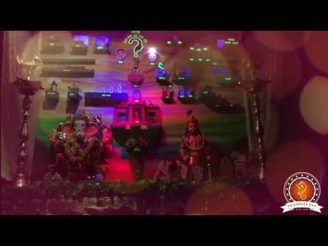 Audumbar Pimpre Home Ganpati Decoration Video