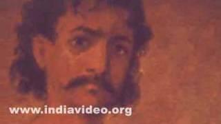 Swordsman, a painting by Raja Ravi Varma