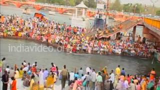Har Ki Pauri in Haridwar, Uttarakhand