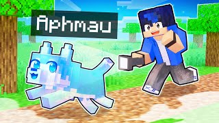 Playing as a Helpful GHOST Dog In Minecraft!