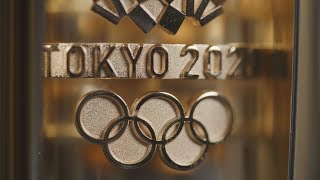 video: A first look at the Tokyo 2020 Olympic torch - made from materials recycled from earthquake and tsunami  struck prefectures