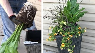 Easy Summer Flower Planters & How To Choose Plants At The Greenhouse - Gardening