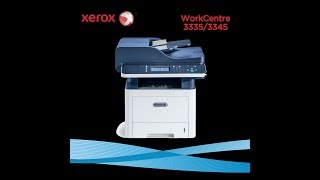 xerox workcenter 3335 unboxing and review- complete functioning guide