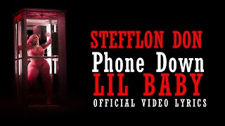 Stefflon Don & Lil Baby Phone Down Official Video Lyrics