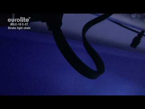 EUROLITE BSLC-10 E-27 Strobe-Lichterkette