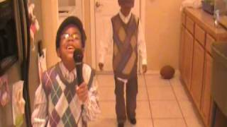 Willow Smith's cousin Hassan singing for Oprah's Karaoke Challenge