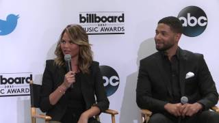 Lia Haberman (The Wrap) Twitter Question (Chrissy) - BBMA Nominations 2015