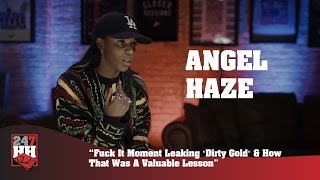 "Angel Haze - Fuck It Moment Leaking ""Dirty Gold"" & How That Was A Valuable Lesson (247HH Exclusive)"