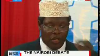 Nairobi gubernatorial candidates give their closing remarks