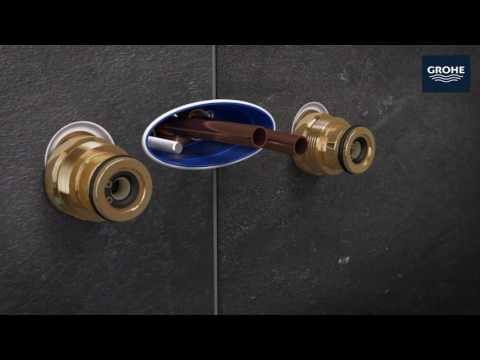 Installationsvideo GROHE Rainshower System SmartControl, Auf-/Unterputz Kombination
