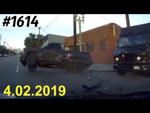 Новая подборка ДТП и аварий от канала «Дорожные войны» за 4.02.2019. Видео № 1614.