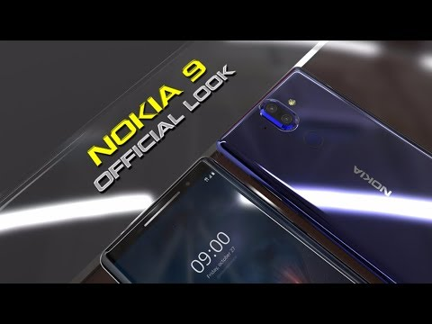 Nokia 9 blu lucido, nuovo video render