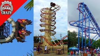 Top 10 BIZARRE Roller Coasters