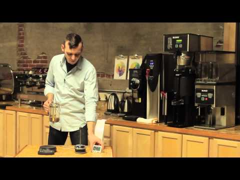 Brewing with a French Press - Online Barista Training - YouTube