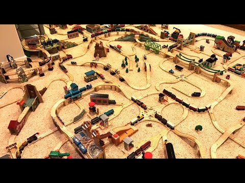 Thomas Wooden Railway Layout (#12)