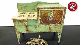 Старинная игрушка восстановление электрической духовки