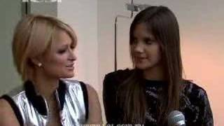 Кира Пластинина, Эксклюзивное интервью Пэрис Хилтон журналу YES!
