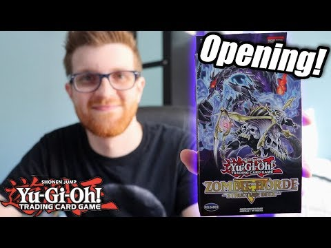 Yu-Gi-Oh! Zombie Horde Structure Deck Opening + Discussion!