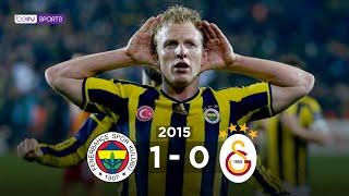 Fenerbahçe 1 - 0 Galatasaray Maç Özeti 8 Mart 2015