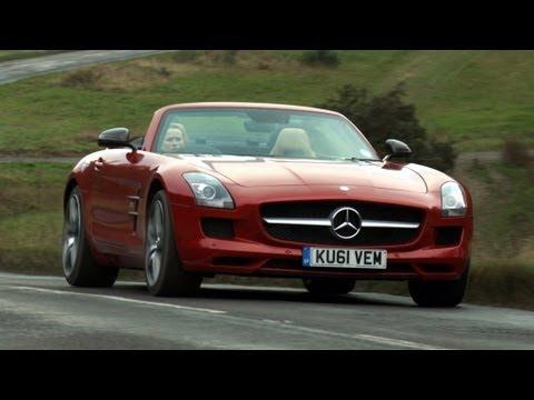 Mercedes SLS Roadster video review