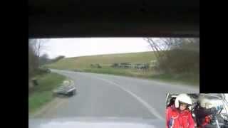 preview picture of video 'Pflug Ákos - Dávid Máté Lada 2107 A1,6 2015.03.22 A123 Teszt Rallye Orfű Gy2'