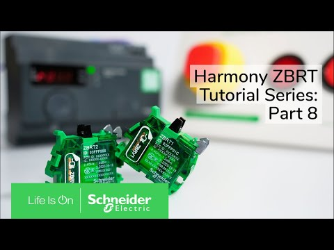 How to monitor your equipment using ZBRT1 or ZBRT2 and Harmony Hub
