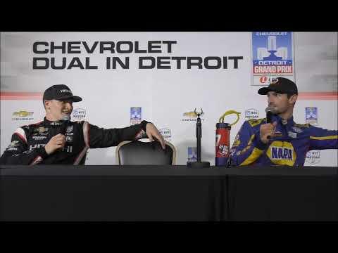 2019 Detroit GP IndyCar Friday Press Conference