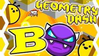 Geometry Dash | B by Motleyorc and ScorchVX ~ AWESOME UNKNOWN EASY DEMON