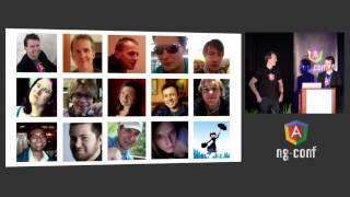 Miško Hevery and Brad Green - Keynote - NG-Conf 2014