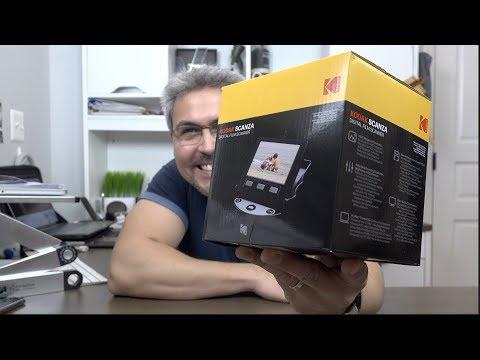 Kodak me mandó una cajita que me a hecho revelar 12 años atrás Kodak Scanza