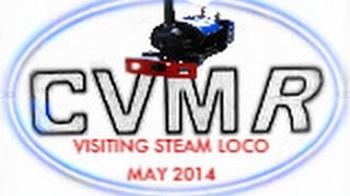 preview picture of video 'Colne Valley Miniature Railway - Visiting Steam loco'