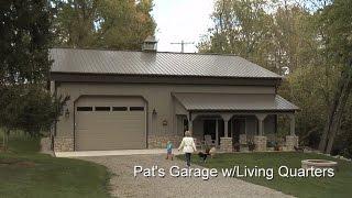 Pats Garage W/Living Quarters
