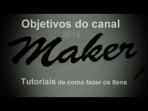 Objetivos do canal  2016